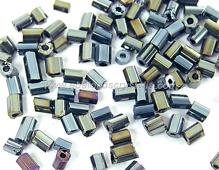 20 GR ROCALLA MINI CANUTILLO MULTICOLOR 2.5x2mm