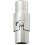 CIERRE PLATA ANTIGUA IMÁN CON SEGURIDAD 15x6mm (Apto 4 mm)