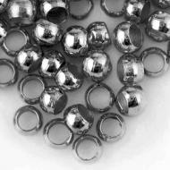 5 Grs. 70 CHAFAS REDONDAS PLATA ANTIGUA 4mm (INTERIOR 3mm)