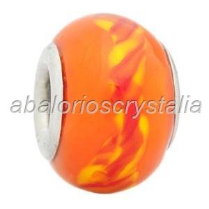 ABALORIO CRISTAL COMPATIBLE PANDORA 14x14x10mm ref: 068