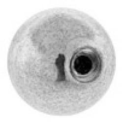 Bolas y espaciadores de plata