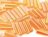 20 GR ROCALLA CANUTILLO 7x2mm NARANJA AB