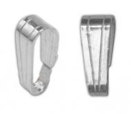 Anilla colgante abierta 5x3 mm plata 925