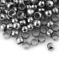 5 Grs. 500 CHAFAS REDONDAS PLATA  ANTIGUA 2mm (INTERIOR 1mm)
