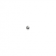 Rondel Disco 3mm (1 mm) plata 925