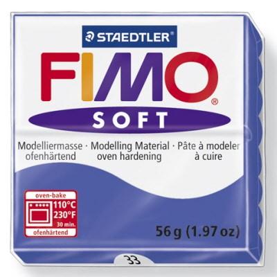 PASTILLA MODELADO 56GR FIMO SOFT BRILLIANT BLUE-33