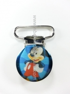PINZA DE METAL 22mm MICKEY