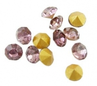 150 CHATONES DE CRISTAL COLOR AMATISTA CLARO (2 mm)