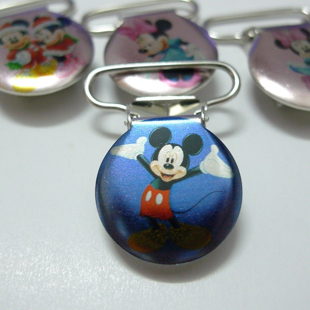 PINZA DE METAL 22mm MICKEY 2