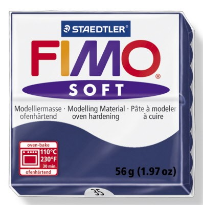 PASTILLA MODELADO 56GR FIMO SOFT WINDSOR BLUE-35