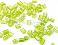 20 GR ROCALLA MINI CANUTILLO VERDE OLIVA AB 2.5x2mm