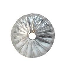 Casquilla labrada 4mm plata 925