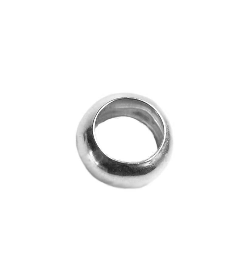 Arandela lisa 4 mm plata 925