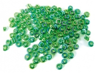 20 GR ROCALLA 10/0 (2.3mm) VERDE EFECTO AB