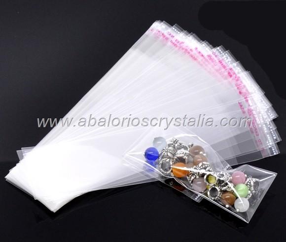 25 bolsas de pl stico con cierre auto adhesivo - Bolsas de plastico con cierre ...