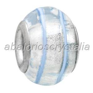 ABALORIO CRISTAL COMPATIBLE PANDORA 14x14x10mm ref: 048