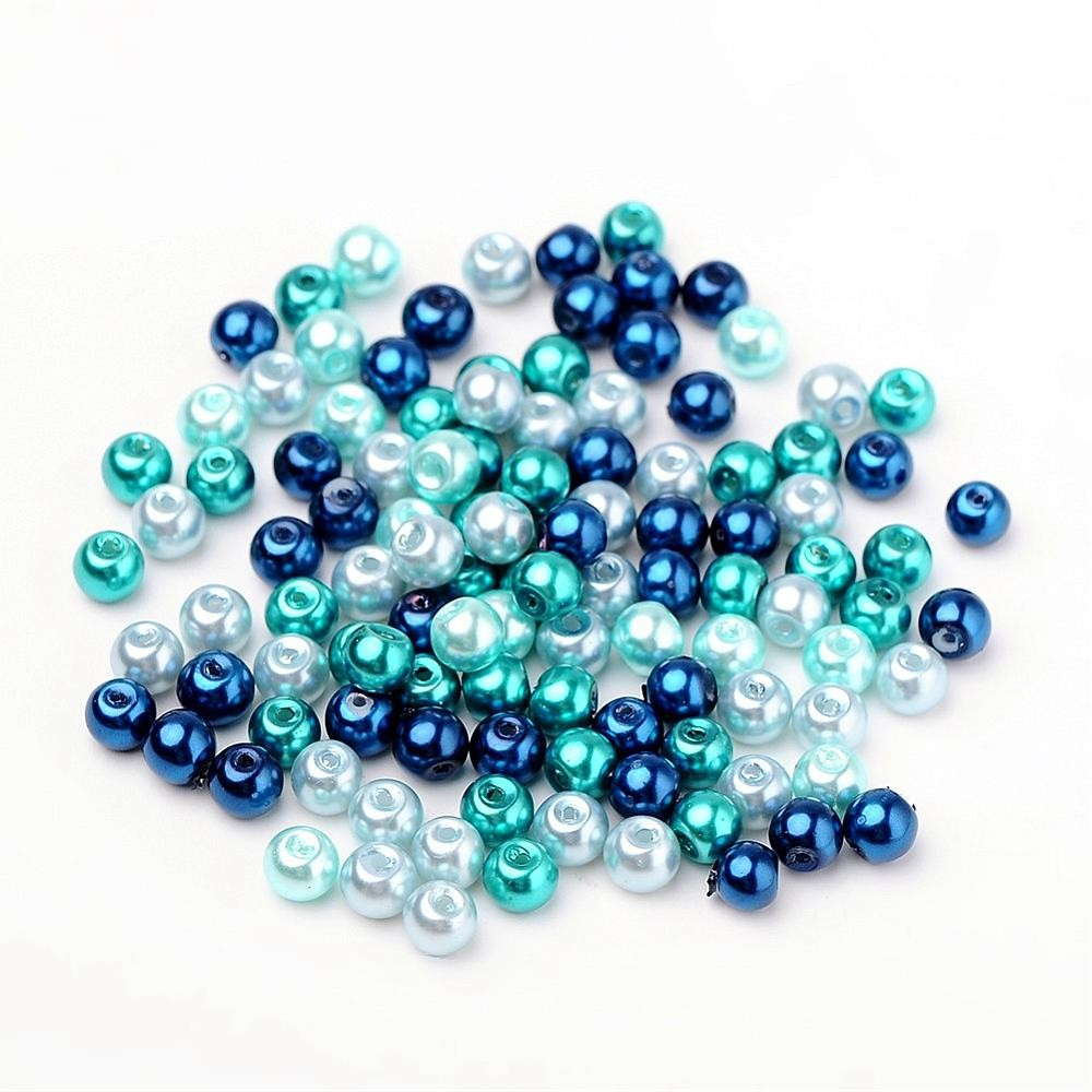 50 PERLAS DE CRISTAL 6mm MIX 3