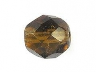BOLA FACETADA CHECA LIGHT SMOKED TOPAZ 4mm (20 uds.)