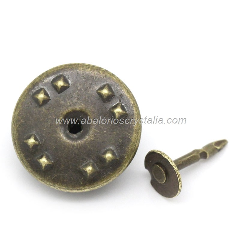 5 BROCHES - PINS BRONCE PINCHO INCLUIDO