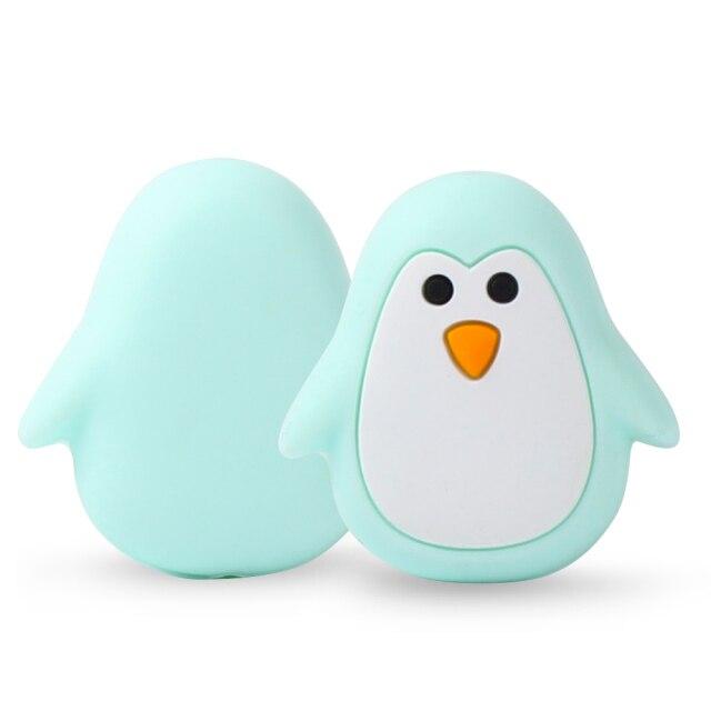 1 Pingüino silicona Menta 26mm