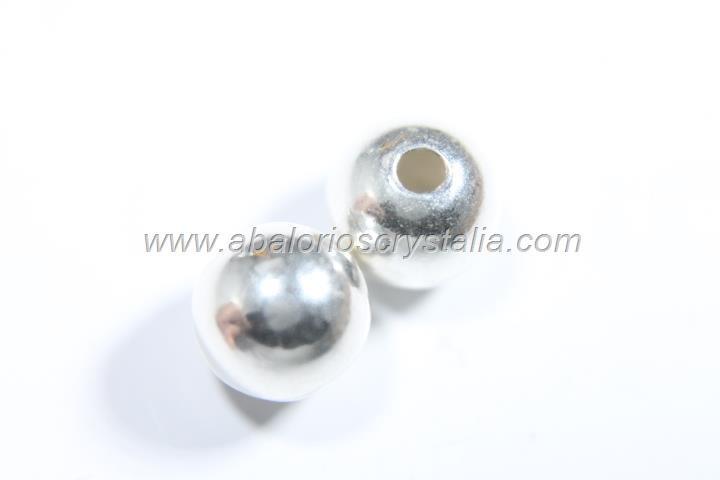 Bola 8 mm (2 mm ) plata 925 ml