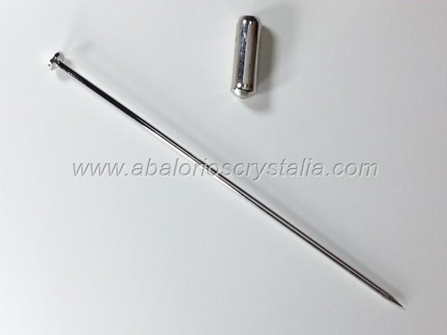 1 AGUJÓN CABEZA DE ALFILER 60mm+ CAPUCHÓN