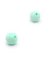 5 Bolas de Silicona Menta 8mm