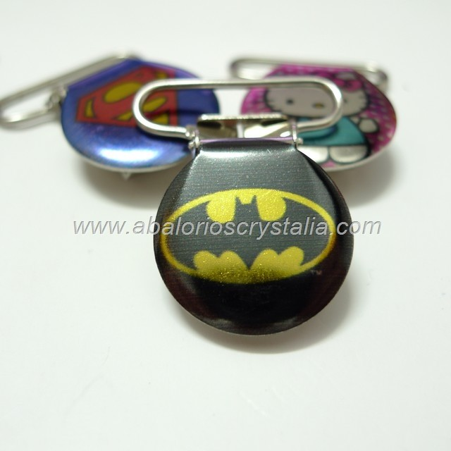 PINZA DE METAL 22mm BATMAN
