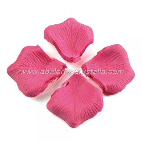 100 Pétalos de Rosa de tela 5x5cm Rosa 5