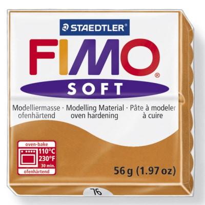 PASTILLA MODELADO 56GR FIMO SOFT COGNAC-76