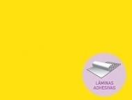 GOMA EVA / FOAM AMARILLO CLARO 2mm LÁMINA 20x30cm ADHESIVA