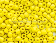 20 GR ROCALLA 6/0 (3.6 - 4mm) AMARILLO OPACO