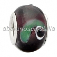 ABALORIO CRISTAL COMPATIBLE PANDORA 14x14x10mm ref: 090